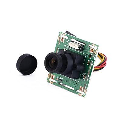 YKS HD 700TVL Sony CCD Mini CCTV Security FPV PCB Board Camera for RC Quadcopter