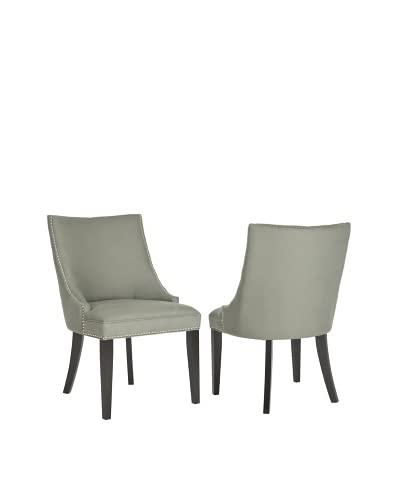 Safavieh Set of 2 Afton Side Chairs, Granite