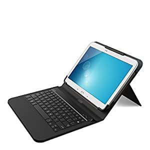 Belkin QODE Universal Keyboard and Case for 10-Inch Tablets, Black (F5L170ttC00) from Belkin Components