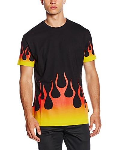 Love Moschino Camiseta Manga Corta Negro