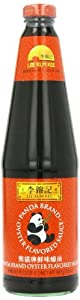 Panda Oyster Flavored Sauce Glass Bottle,32 Ounce (Pack of 12)