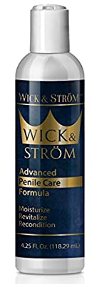 Penile Health Cream - Improves Circulation - Natural Ingredients - Helps Increase Sensitivity and Reduce Dry, Cracked, Irritated Skin - 4.25 oz.