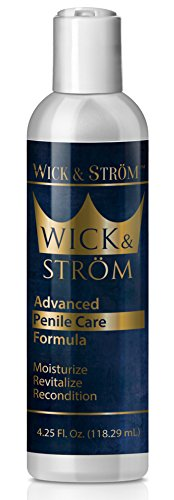 Penile Health Cream - Penis Cream for Sexual Wellness for Men - Improves Circulation - Natural Ing. - Helps Increase Penis Sensitivity and Reduce Dry, Cracked, Irritated Skin - 4.25 oz. (1 Bottle)
