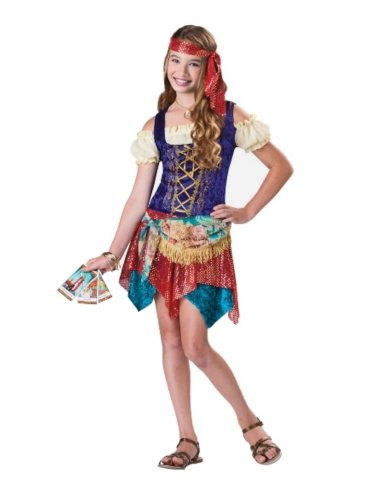 In Character Girls Gypsys Spell Costume