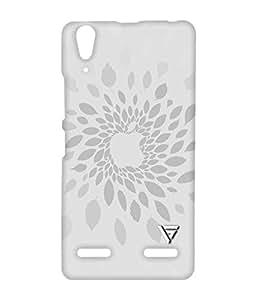 Vogueshell Apple Leaves Printed Symmetry PRO Series Hard Back Case for Lenovo A6000