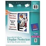 Top-Load Display Sheet Protectors, Letter, 10/Pack