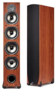 Polk Audio Monitor 75T Four-Way Ported Floorstanding Speaker (Single, Cherry)
