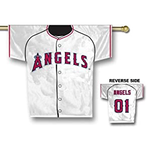 MLB Los Angeles Angels 34 x 30-Inch Jersey Banner by BSI