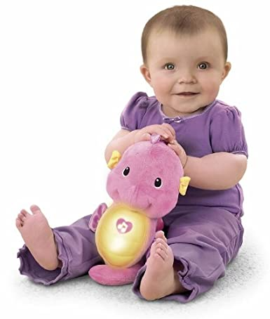 表情可爱,手感柔软,摸起来很柔滑,只要轻按按钮,娃娃笑脸会发出红光
