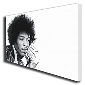Jimi Hendrix painting canvas art poster print 055 by boxprints