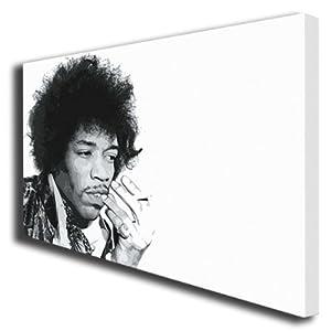 Jimi Hendrix painting canvas art poster print 055 by boxprints