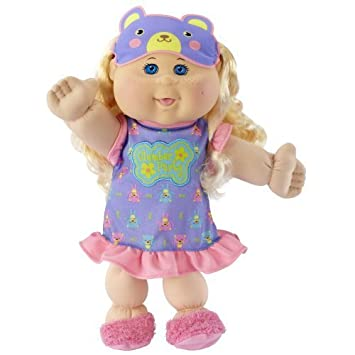 "Cabbage Patch Kids Glow Party: Blond Hair, Caucasian Girl 14"" Doll by Cabbage Patch Kids (English Manual)"