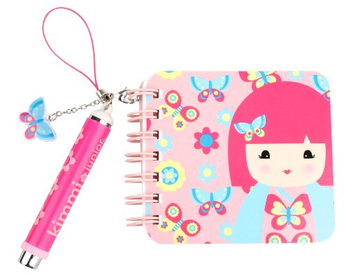 Kids Preferred Kimmidoll Junior Mini Notebook And Pen, Ellie front-989964