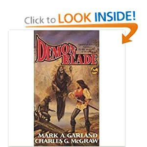 Demon Blade by Mark A Garland and Charles G McGraw