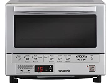 Panasonic NB-G110P Flash Xpress Toaster Oven, Silver $99.99