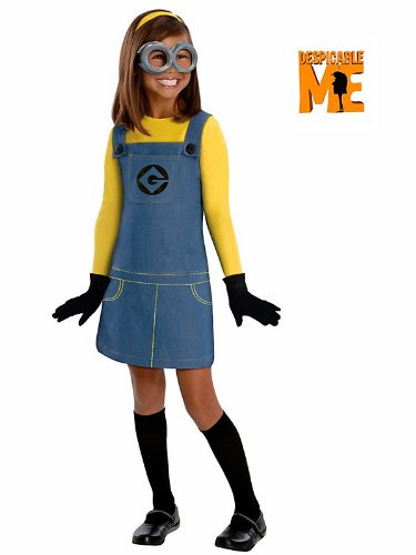 Rubies Kids Girls Minion Despicable Me Halloween Costume