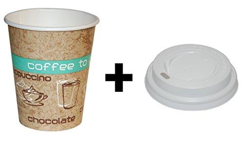 50-bicchieri-di-carta-200ml-con-coperchi-coordinati-coffee-to-go-bicchieri-merce-di-qualita