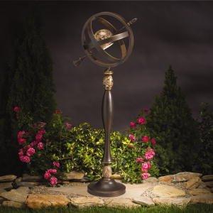 Path lights kichler lighting 15448oz aries manor garden for Manor house landscape lighting