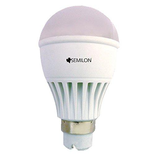 5W B22D PVC Aluminium LED Bulb (White)