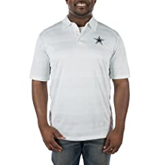 Dallas Cowboys 2014 Preseason Polo White XLarge by Dallas Cowboys