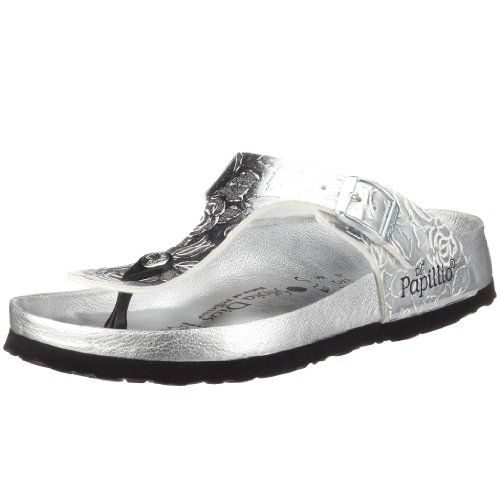 Papillio ''Gizeh'' from Birko-Flor in White Roses Silver 37.0 EU R