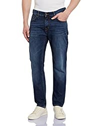 Gant Men's Straight Fit Jeans (8907163415967_GMJGB005_36W x 32L_Royal Blue)