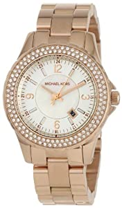 Michael Kors - Quartz Classic Rose Gold with White Dial Women's Watch - MK5403