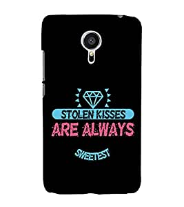 Love Quote 3D Hard Polycarbonate Designer Back Case Cover for Meizu MX5
