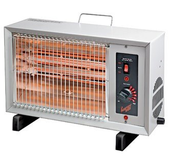 Comfort Zone Cz-530 Electric Radiant Heater With Alarm