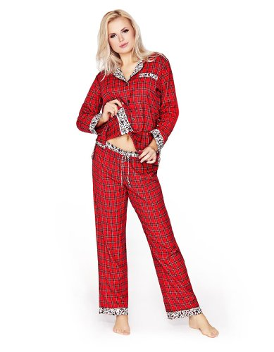 Женская пижама Mio Lounge Women's Highland Dream Flannel Tartan Pyjamas