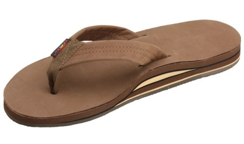 Rainbow Sandals Mens Double Layer Premier Leather
