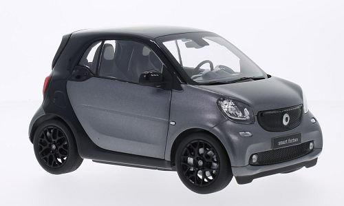 smart-fortwo-noire-metallic-dunkelgrau-2014-voiture-miniature-miniature-deja-montee-i-norev-118