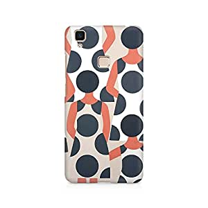 Ebby Dressy Girl Premium Printed Case For Vivo V3 Max