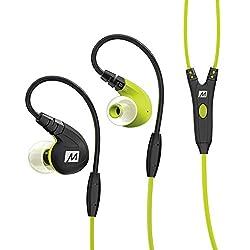 MEE Audio M7P Over-Ear Headphones with Mic (Green)
