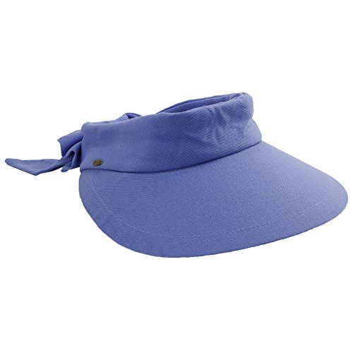 Scala-Womens-Visor-Hat-With-Big-Brim