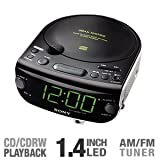 Sony ICF-CD815 AM/FM Stereo CD Clock Radio with Dual Alarm