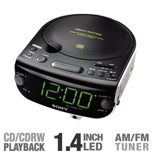 Sony Icf-Cd815 - Cd Clock Radio (Icfcd815) -