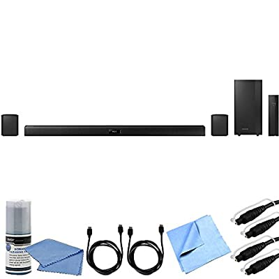 Samsung HW-J370 - 4.1 Channel 200 Watt Wireless Audio Bluetooth Soundbar Bundle