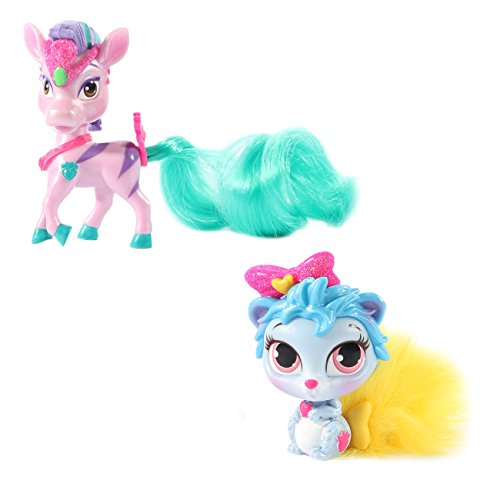Disney Princess Whisker Haven Tales with Palace Pets Furry Tail Friends Stripes & Thistle Blossom Combo Pack