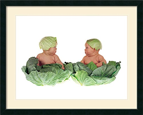 Cabbage Kids By Anne Geddes Framed front-942976
