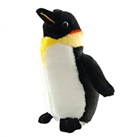 ZSL - Minis Lifelike Soft Toy Emperor Penguin