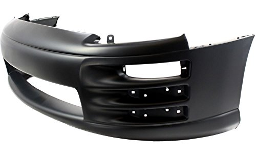 New Evan-Fischer EVA17872030045 Front BUMPER COVER Primed Direct Fit OE REPLACEMENT for 2000-2002 Mitsubishi Eclipse *Replaces Partslink MI1000268 (Mitsubishi Eclipse 01 Bumper compare prices)