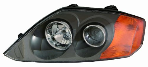 Depo 321-1126L-AS2 Hyundai Tiburon Driver Side Composite Headlamp Assembly with Bulb and Socket (03 Tiburon Headlight Assembly compare prices)