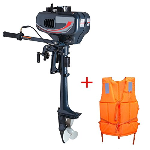 Zeny 3.5hp Superior Engine Water Cooling System Outboard Motor Two-strok Inflatable Fishing Boat (2 Hp Boat Motor compare prices)