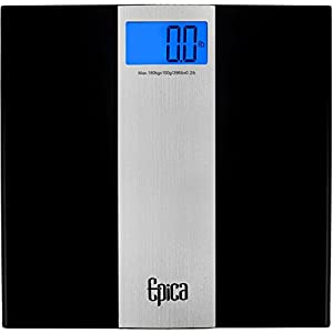 Omega Ultra Slim Digital Bathroom Scale 400 Lb Capacity Sense On Technology Beauty