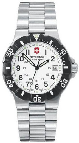 Victorinox Swiss Army Men's 24004 Classic White Watch Discount !!