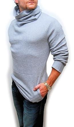 Polo Ralph Lauren RLX Mens Merino Wool Turtleneck Sweater Gray Medium