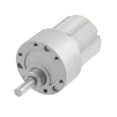 Dc 12V 500Rpm 0.8A 37Gb 2-Pin Terminals Electric Geared Motor