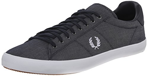Fred Perry Men's Howells Winter Chambray Fashion Sneaker,