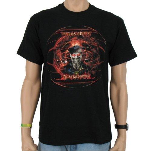 Judas Priest-Nostradamus Maglietta, Black Band, Unisex adulto Uomo, JUDAS PRIEST - NOSTRADAMUS T-Shirt, Größe S, S